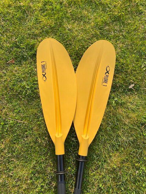 folding paddles