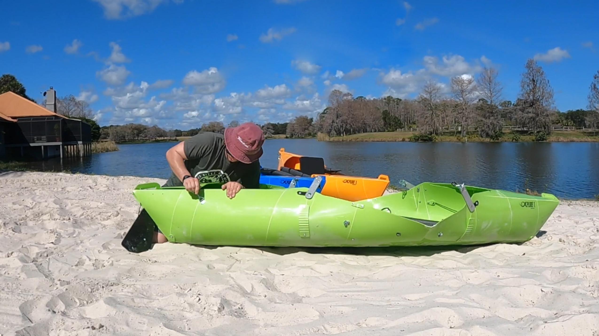 , Home, Foldable Kayaks - Xplore 1 Portable Kayak