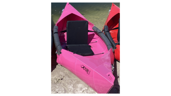Pink Foldable Kayak